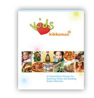 Kids Love Kikkoman School Menu Brochure
